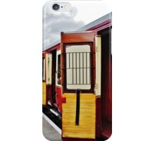 All aboard - mind the doors, please !! iPhone Case/Skin