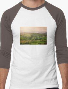 Fifty Shades Of Green Men's Baseball ¾ T-Shirt