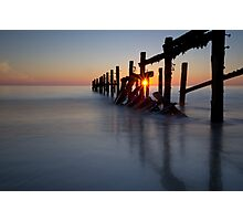 Happisburgh sunrise Photographic Print