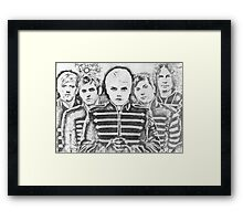 My Chemical Romance drawing Framed Print