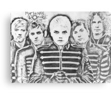 My Chemical Romance drawing Canvas Print