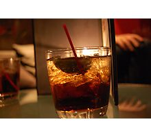 Crown & Coke in Vegas Photographic Print