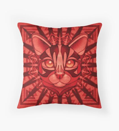 The Exotic Bengal Throw Pillow