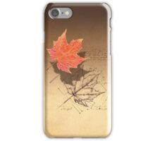 Fall, Deconstructed iPhone Case/Skin