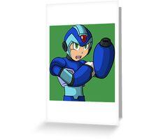 Mega Man X Greeting Card