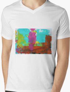 Abstract 09 Mens V-Neck T-Shirt