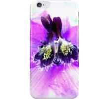 Delphinium Closeup iPhone Case/Skin