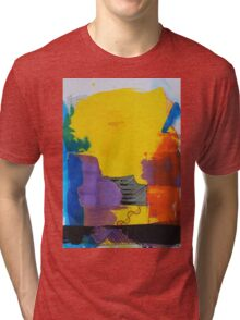 Abstract 10 Tri-blend T-Shirt