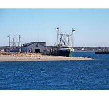 Montauk Harbor Photographic Print