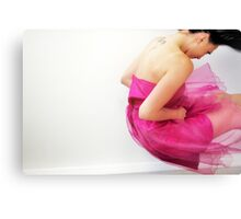 Pink Fun Canvas Print