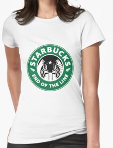 starbucky Womens Fitted T-Shirt