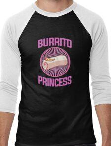 Burrito Princess Men's Baseball ¾ T-Shirt