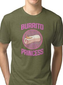 Burrito Princess Tri-blend T-Shirt