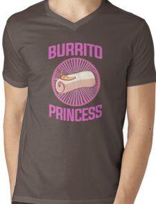 Burrito Princess Mens V-Neck T-Shirt