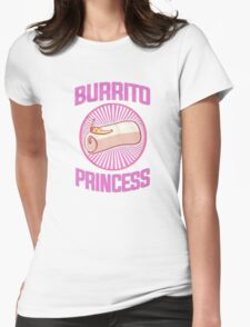 Burrito Princess Womens Fitted T-Shirt
