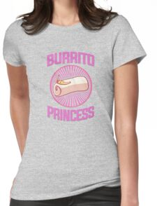 Burrito Princess Womens Fitted T-Shirt