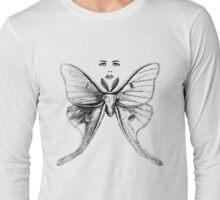 Moth Woman Metamorphoses Long Sleeve T-Shirt