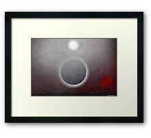 Alien Eclipse  Framed Print