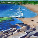 """Bungan Beach"" Northern Beaches by Taniakay"