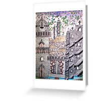 Another Small Castle Greeting Card