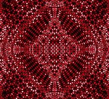 Strawberry Red Diffraction Pattern by KirstenStar