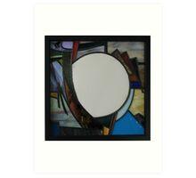 Square Mirror No 4 Art Print