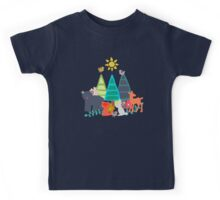 summer woodland Kids Tee
