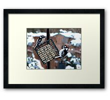 Sharing Framed Print