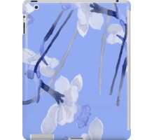 Narcissus light blue pattern iPad Case/Skin