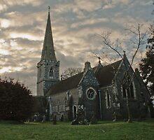St Matthew, Midgham by glennwest
