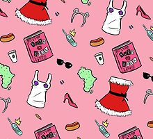 Mean Girls Pattern by kaptainviolet