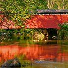 Foxcatcher Covered Bridge  by Monte Morton