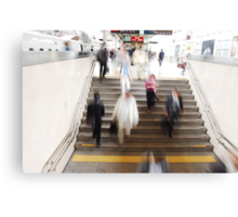 Hustle and Bustle @ Tokyo Station Canvas Print