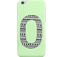 'O' Patterned Monogram iPhone Case/Skin