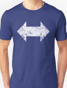 Support Arrows Wht Warn T-Shirt