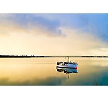 Golden dawn on the Murray Photographic Print