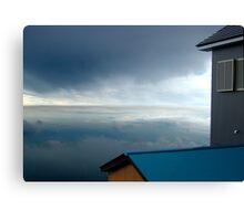 Blue Stratosphere Canvas Print