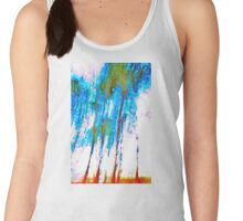 'Abstract Trees' Women's Tank Top