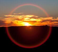 Sunset Halo by Travis Easton