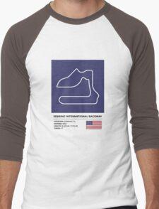 Sebring International Raceway - v2 Men's Baseball ¾ T-Shirt