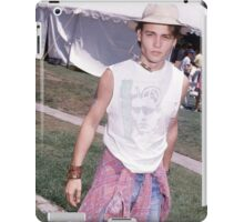Johnny Depp iPad Case/Skin