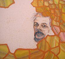 1995 self portrait by James Lewis Hamilton