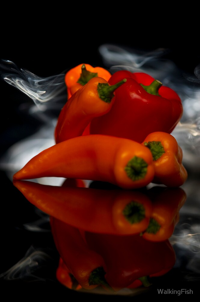 Smokin Peppers by WalkingFish