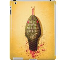 VIPERISH TONGUES iPad Case/Skin