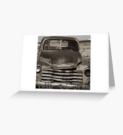 Old Farm Truck Greeting Card