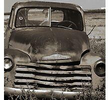 Old Farm Truck Photographic Print