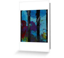 Abstract Greeting Card