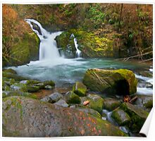Sweet Creek, Playful Falls Poster