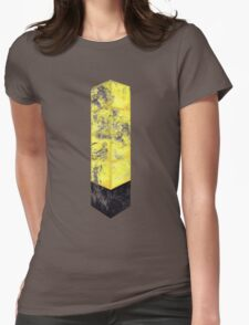 Eroded Tower of Pimps Womens Fitted T-Shirt