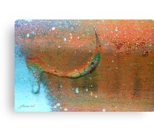 Drip-Dried Canvas Print
